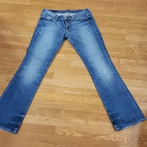 Citizens of Humanity boot cut low waist